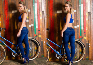 candice collyer - Candice Jeans - Skin Tight Glamour