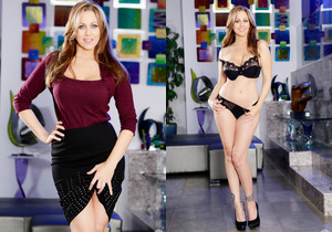 Julia Ann & Chad Alva - Mommy Blows Best