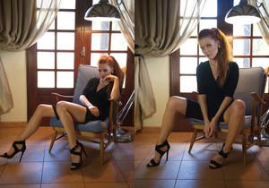 Mia Sollis Black And Blue - Girlfolio