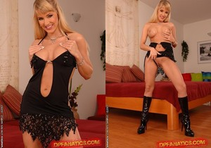 Natalli DiAngelo Double Penetrated