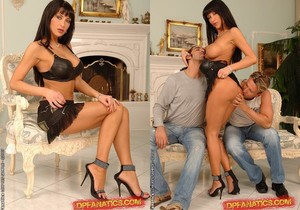 Lisa Rose Double Penetrated