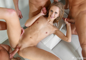 Rachel's First Gangbang - My Very First Time