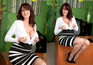 Cassie Cougar - Cassie Takes The Big One - 40 Something Mag