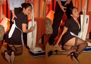 Kitty Langdon - Clean My Pipes! - Leg Sex