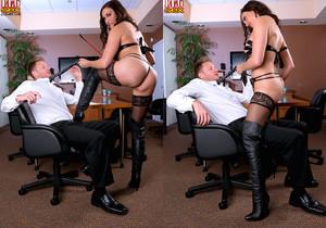 Raven LeChance - Obey The Mistress - Leg Sex