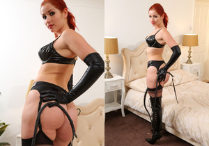 Harley Pvc Lingerie - Strictly Glamour
