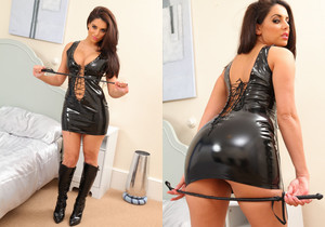 Layla - Lay Pvc Dress - Strictly Glamour