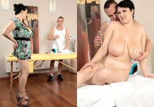 Barbara Angel - Oily Boob Massage Sex - ScoreLand