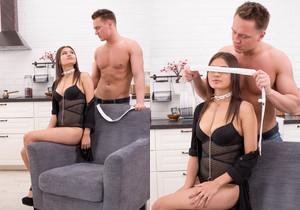 Asian Looking Teen Mia Kiss Takes a Facial - Private