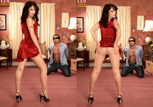 Kiki Marie - Beg For It Slave Boy! - Leg Sex