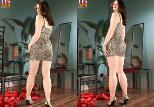 Sara Sinn - Bare-legged Beauty - Leg Sex