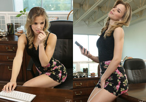 Jillian Janson - Office Rumors - Nubile Films