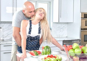 Zelda Morrison - Kitchen Desires - Passion HD