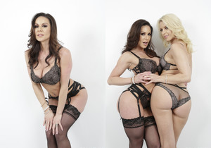 Kendra Lust & Anikka Albrite In A Threeway - Arch Angel