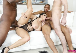 Ava Addams First Ever Gangbang - Arch Angel