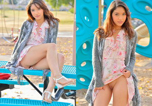 Melody - At The Playground - FTV Girls