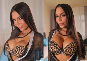 Fingering Fanatic: Latina Milf's Sensational Solo Sex Debut