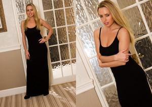 Holly Gibbons - Holly Black Dress - Hayley's Secrets