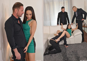 Boozed Up - Three Studs Double Penetrate Brunette Russian