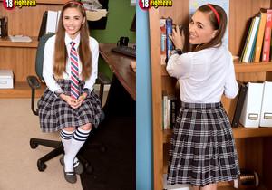 Skye - Fuzzy Schoolgirl - 18eighteen