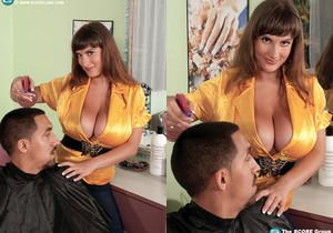 Valory Irene - Hairdresser With Hooters - ScoreLand
