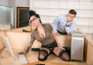 Lily Lane, Patrick Delphia - Big Tit Office Chicks #02