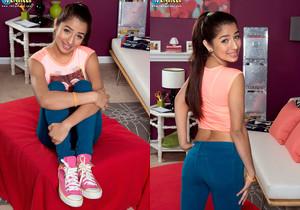 Megan Salinas - The Perfect Teen Body? - Naughty Mag