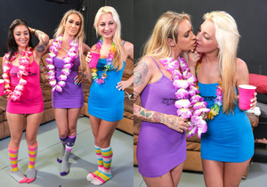 Porno Dan, DD Ventura, Hailey Holiday & Aimee Black - Immora