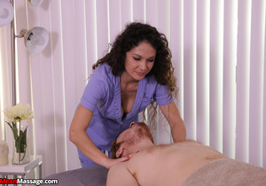 Jessica Torres: Edging His Monster Cock - Mean Massage