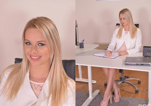Hot & Bothered Boss: Pussy Probing Around the Office