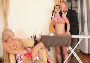 Betty Stylle, Sandy B, Bob Terminator - Perverted 3somes