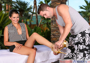 Allie Haze - My Naughty Massage
