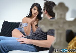 Gina Valentina StepFather - Spizoo