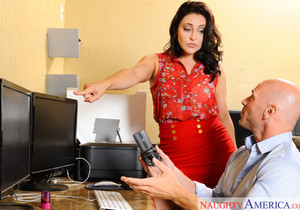 Gracie Glam - Naughty Office