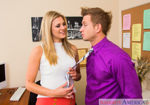 Scarlet Red - Naughty Office