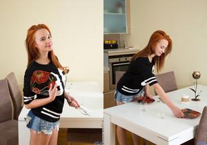 Caroline Crimson - Firey Redhead - Nubiles