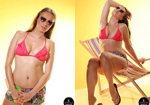 Spinchix and Nika have that sexy summer feeling - Spinchix