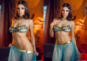Darcie Dolce Is a Sultry Belly Dancer Who Rocks Your World