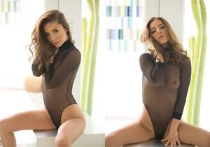 Lily Chey - Black Bodysuit