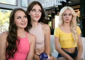 Elsa Jean, Scarlett Sage, Lena Anderson - Tie-Breaker Orgasm
