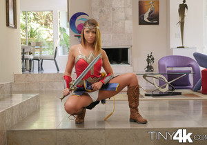 Adriana Chechik - Super Hero Goes Trick Or Treating