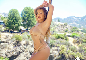 Cassidy Banks - Oiled Exotic Beauty - Exotic4k