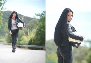 Tori W - Biker Chick - Skin Tight Glamour