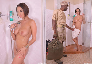 Anissa Kate - Avid For A Soldier's Cum