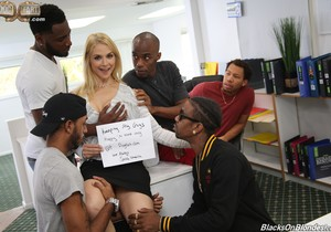 Sarah Vandella - Blacks On Blondes
