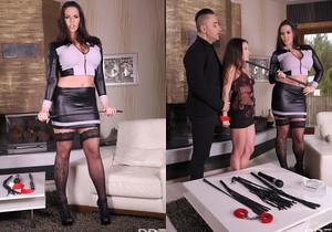 Anita B., Simony Diamond - Subby's First BDSM Threesome