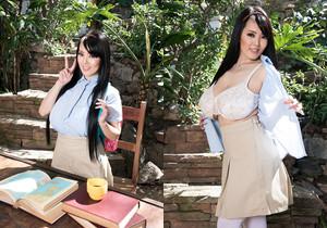 Schoolgirl Hitomi Takes A Study Break For Boobs - ScoreLand