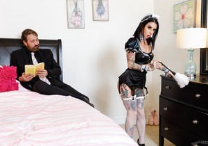 French Anal MILF Maids - Joanna Angel - Burning Angel