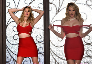 Brett Rossi ready for a night out