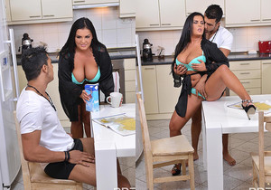 Jasmine Black - Breasty Breakfast
